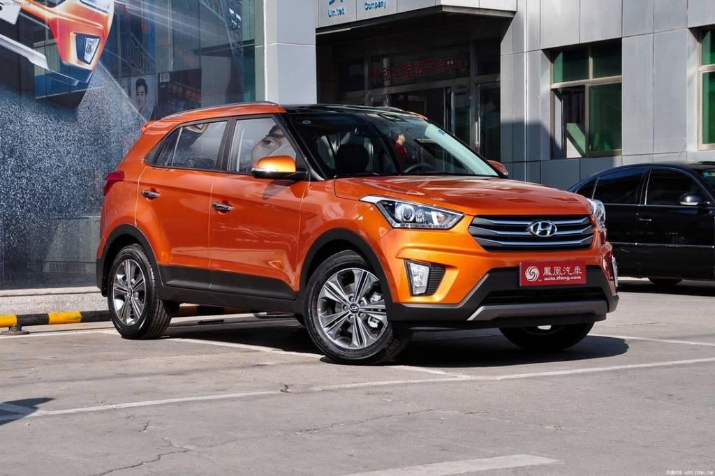 Новый кроссовер Hyundai Creta
