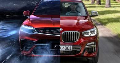 BMW X4 и Geely FY11
