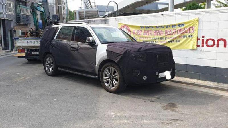 Новый Kia Mohave 2019 и Toyota Prado