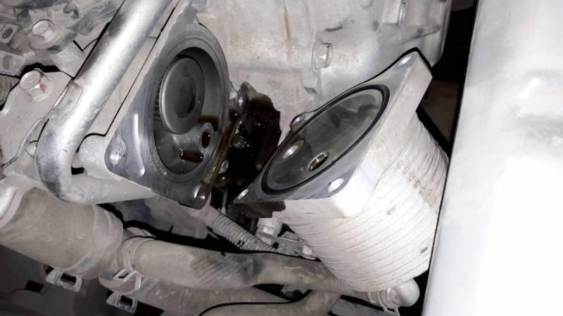 маслоохладитель Jatco JF011E