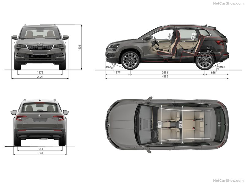 Skoda Karoq конкурент VW Tiguan