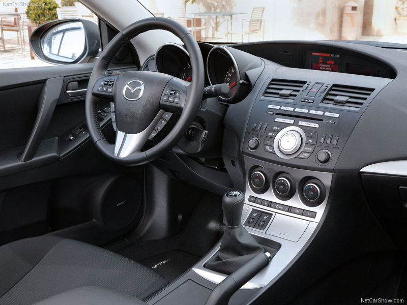 Mazda3 bl рестайлинг