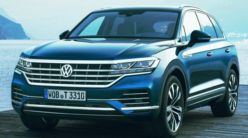 Volkswagen Touareg новый