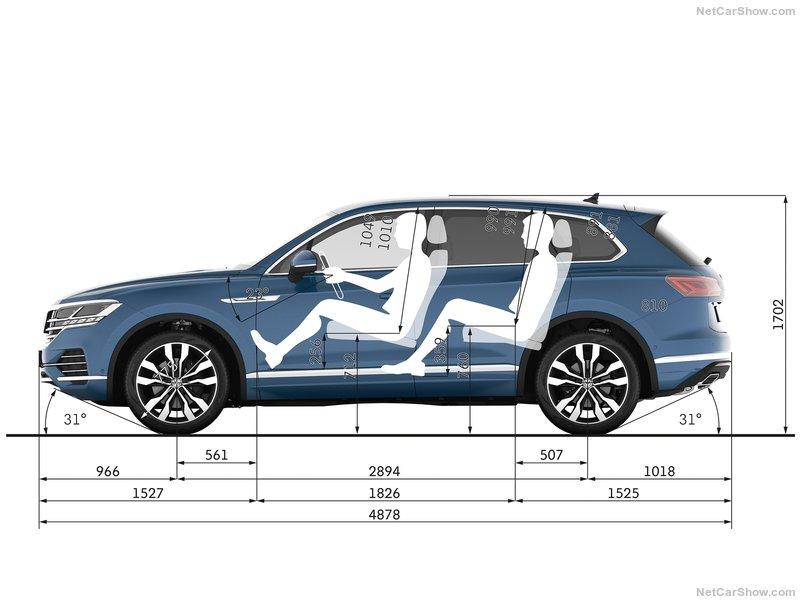 Схема Volkswagen Touareg новый