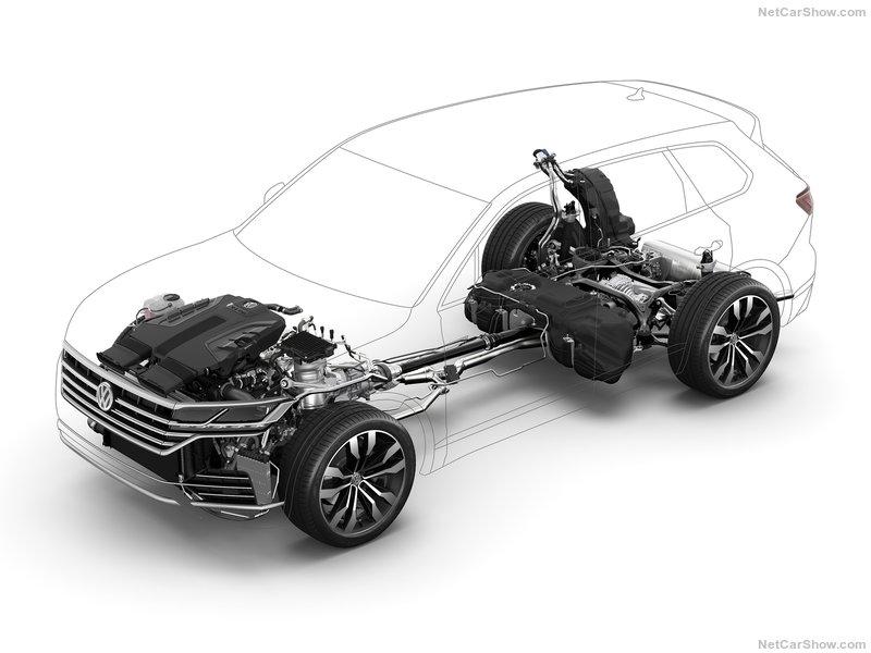 Volkswagen Touareg новый привод