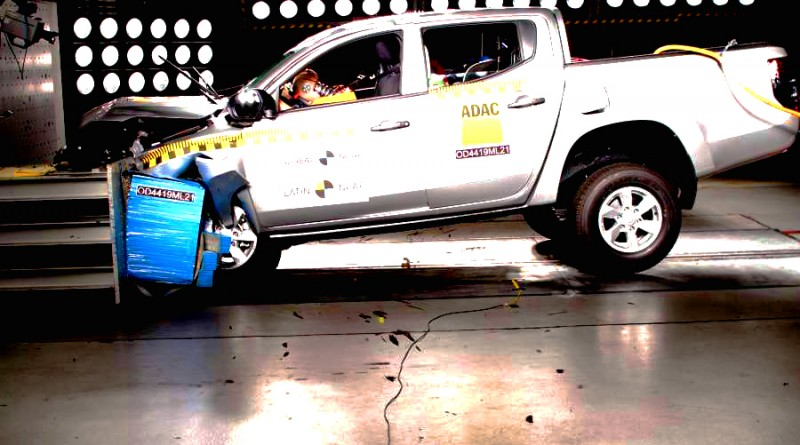 Mitsubishi L200 ncap безопасность