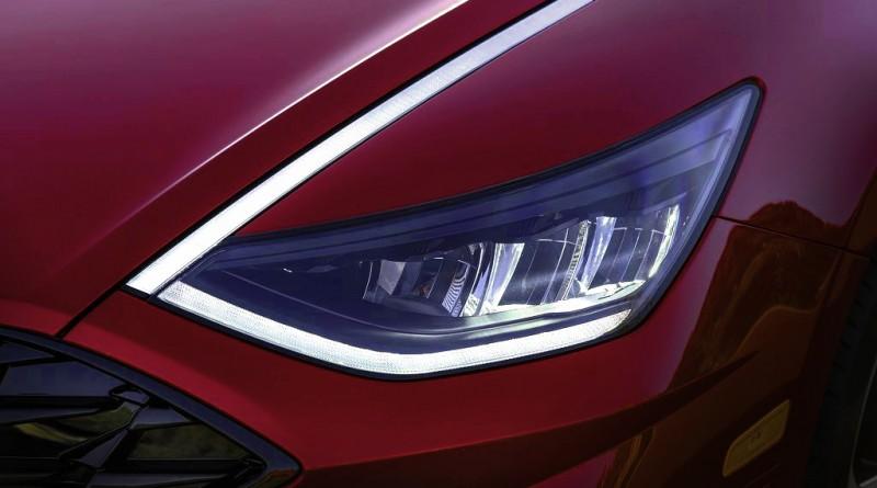 Градиентные светодиодные огни Hyundai