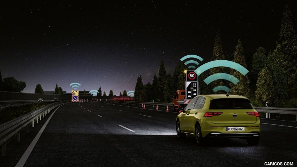 Система Car2x и Volkswagen Golf 8