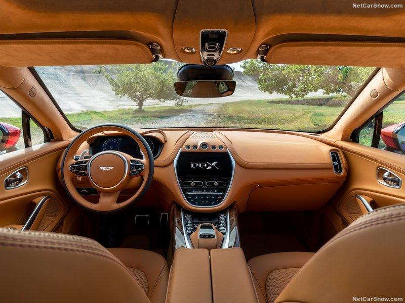 паркетник Aston Martin DBX
