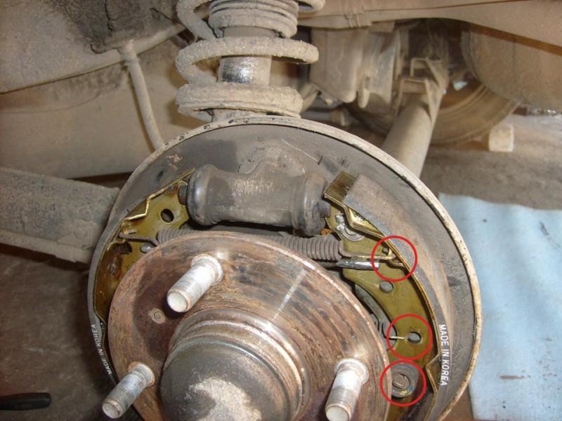 Пружины тормозного механизма